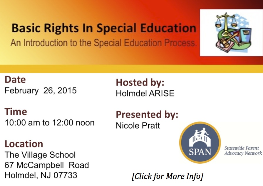 Basic Rights in Special Education - graphics