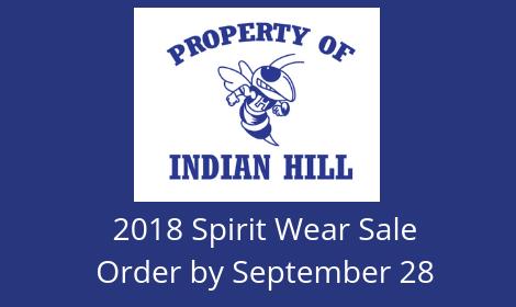 2018 Spirit Wear Sale
